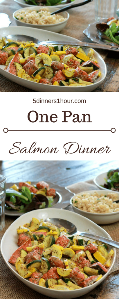 quick salmon dinner | 5dinners1hour.com