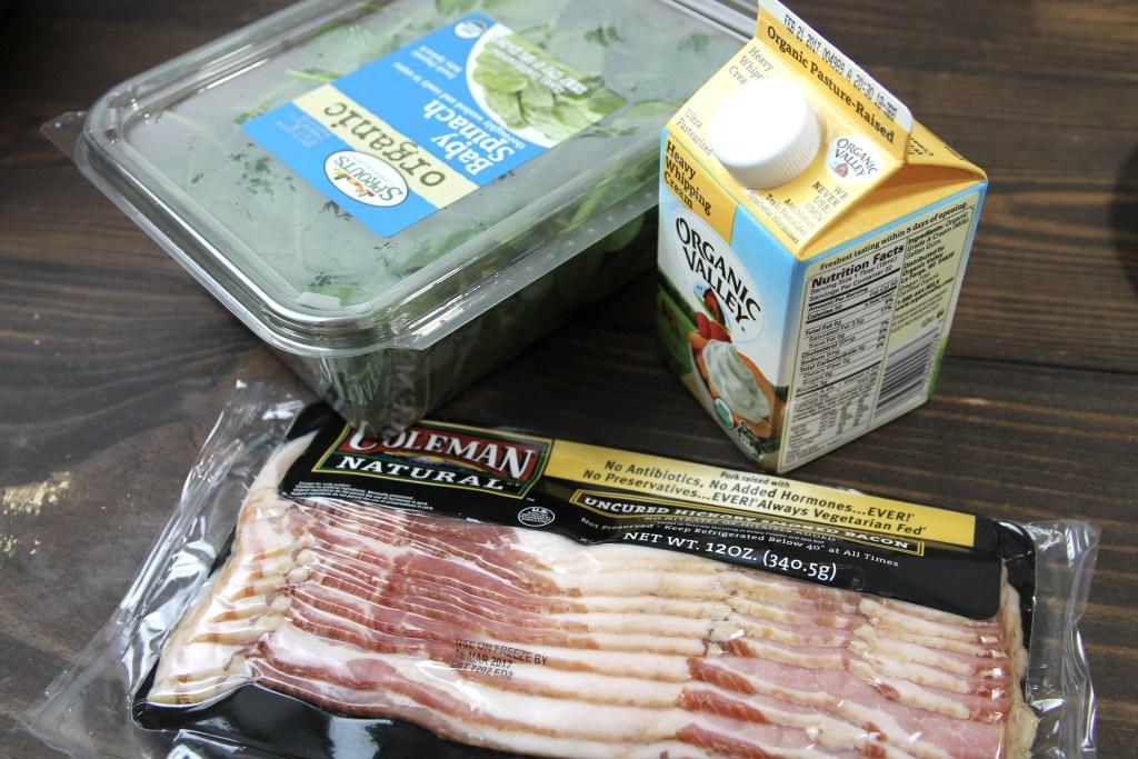 Keto Instant Pot Chicken Bacon Chowder | 5dinners1hour.com