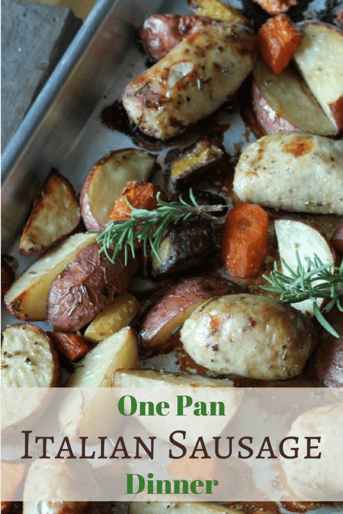 Italian Sausage Dinner on One Pan | 5dinners1hour.com