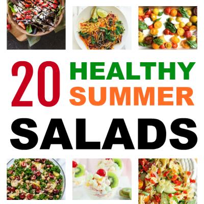 20 Healthy Summer Salad Recipes