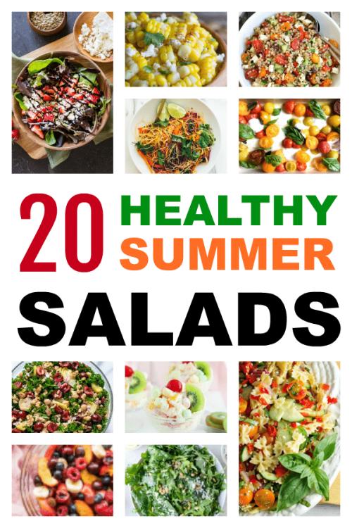 Fresh healthy summer recipes.