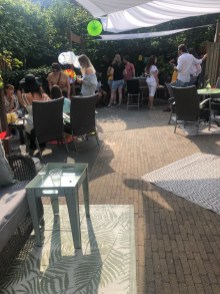 Terras, Garden, Party Networking, Meeting, Workshop, Restaurant 5Elements Rijnsaterwoude