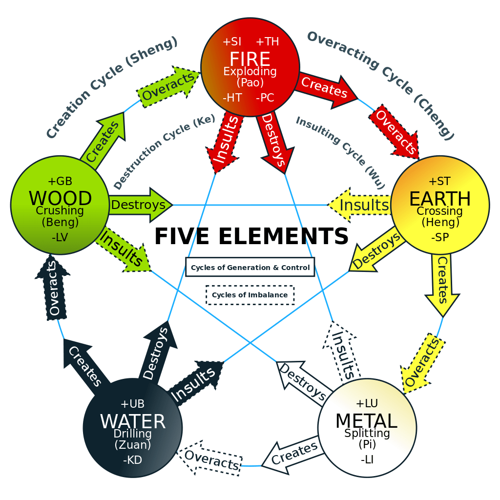 5 Element Constellations A Body Oriented Health And
