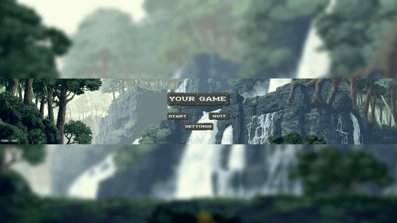 Pixel Game Banner