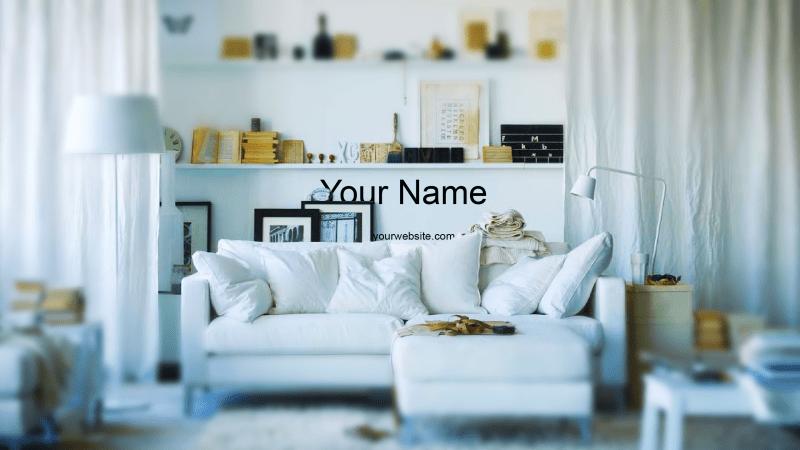 Indoor Design Banner