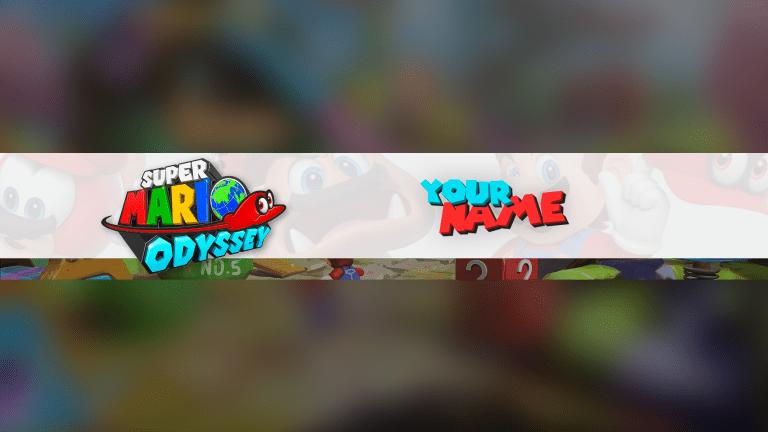 Mario Odyssey Banner