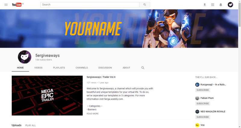 Tracer Banner Example