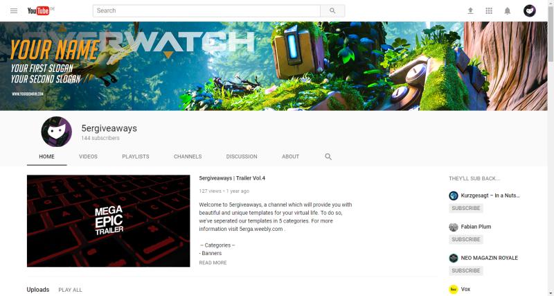 Overwatch Banner Example