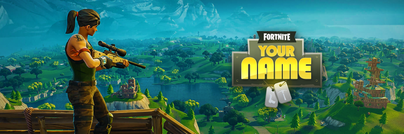 Fortnite Twitter Cover