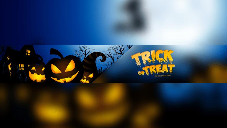 Halloween YouTube Banner