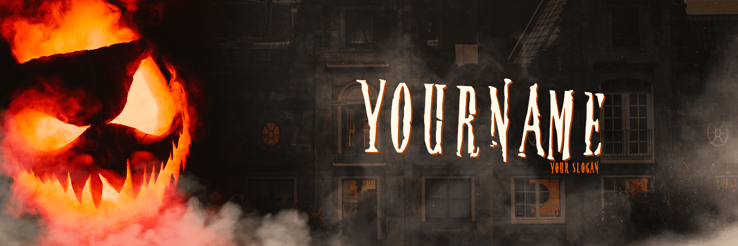 Halloween Twitter Cover