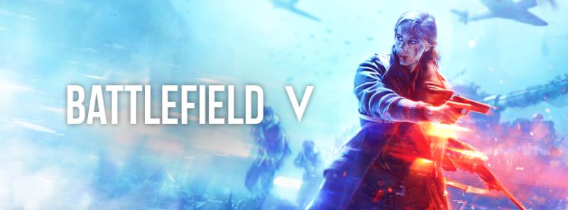 Battlefield V Facebook Cover