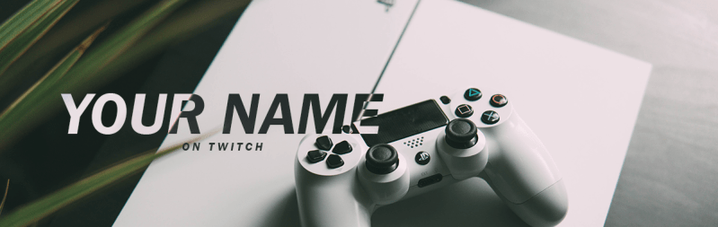 PS4 Twitch Cover