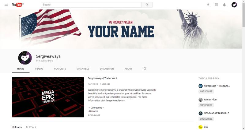 USA Banner Example