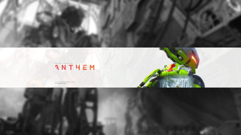 Anthem YouTube Banner