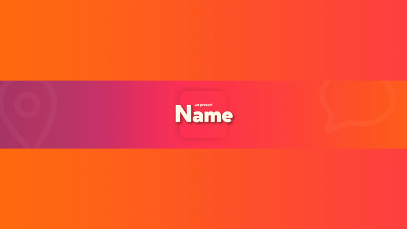 Colourful YouTube Banner