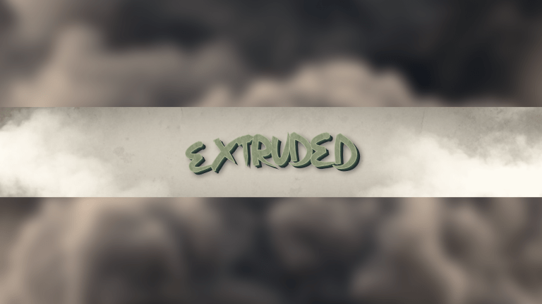 Extruded Banner