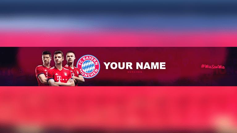 FC Bayern Banner