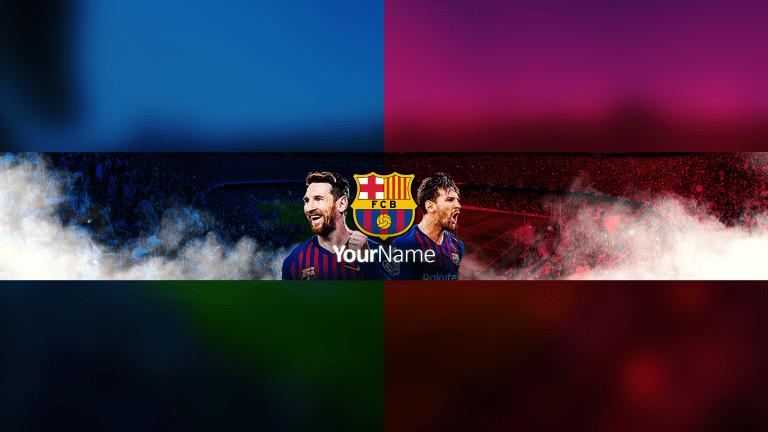 FC Barcelona Banner