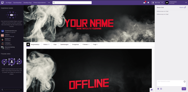 Smoke Twitch Example