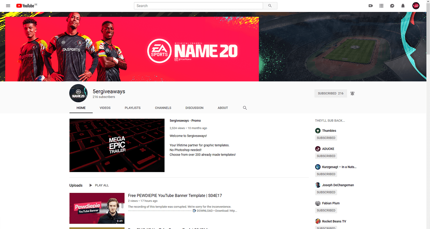 Gears 5 Banner Example