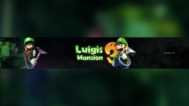 Luigis Mansion 3 Banner