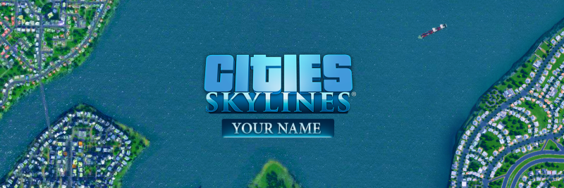 Cities Skylines Twitter Cover