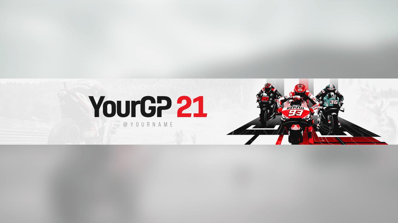 MotoGP 21 Banner