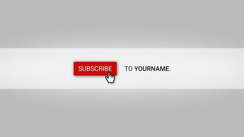 Subscribe YouTube Banner