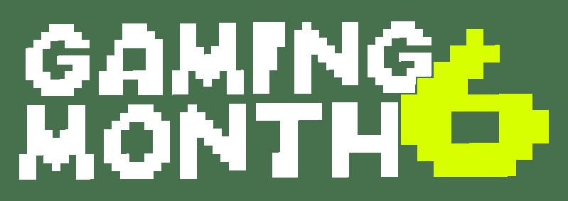 Gaming Month 6 Logo