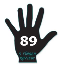 5 Finger Review rates this an 89