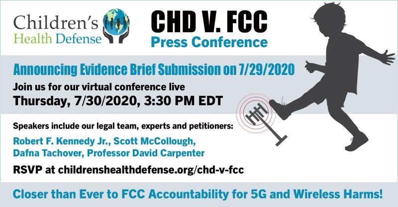 CHD v FCC Press Conference Webinar - Evidentiary Brief Filing July 29 2020