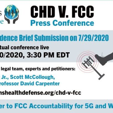 CHD v. FCC Press Conference Webinar: Evidentiary Brief Filing