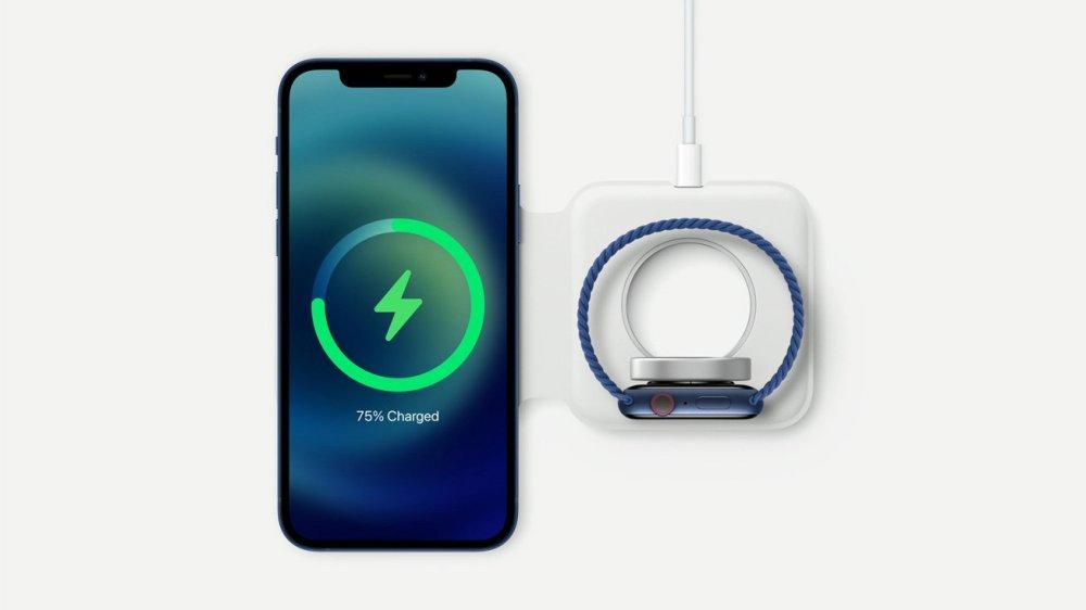iPhone 12 trådløs opladning