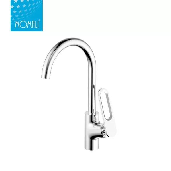 long neck water ridge kitchen faucet