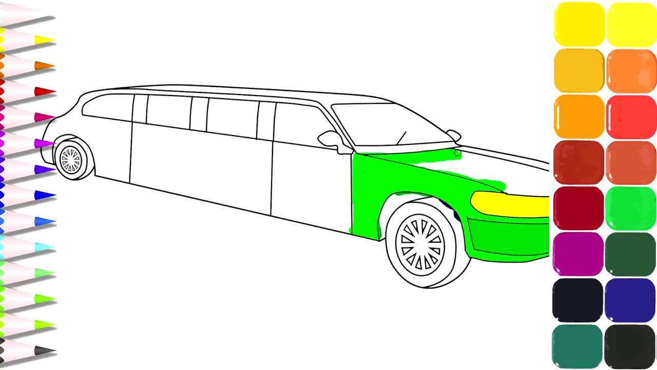 رسم سيارة اطفاء تعلم الرسم بابسط الطرق حنان خجولة