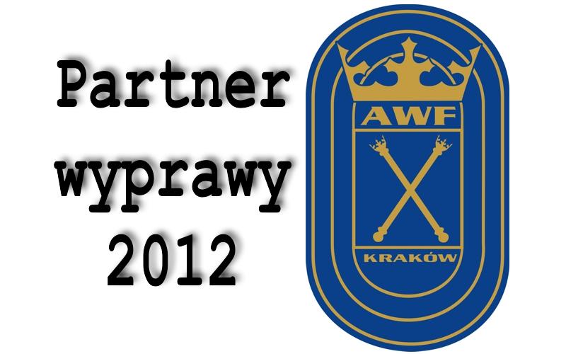 AWF partnerem wyprawy 2012