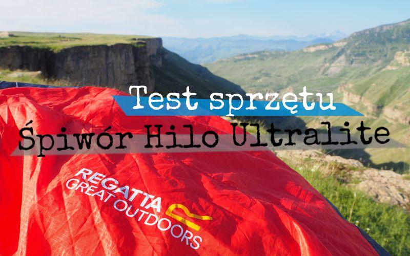 Śpiwór Hilo Ultralite750 Regatta - test