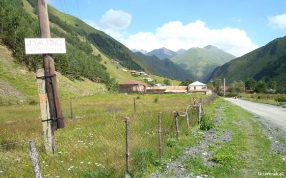 Karkucha - mała osada w Dolinie Sno.
