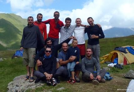 Chaukhi - gruzińskie Dolomity - Piąty Kierunek09