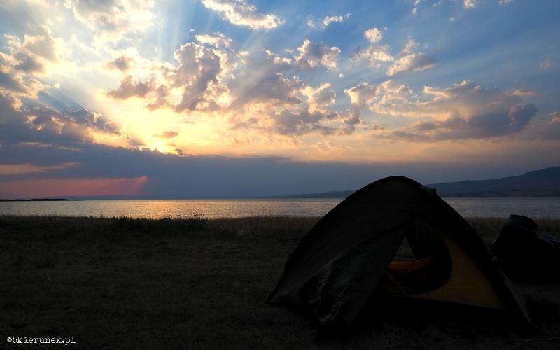 Turcja - biwak nad Jeziorem Wan - Piąty Kierunek