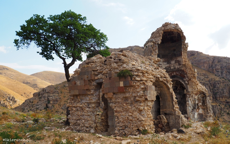 Turcja - ruiny ormiańskiego kościoła - Piąty Kierunek