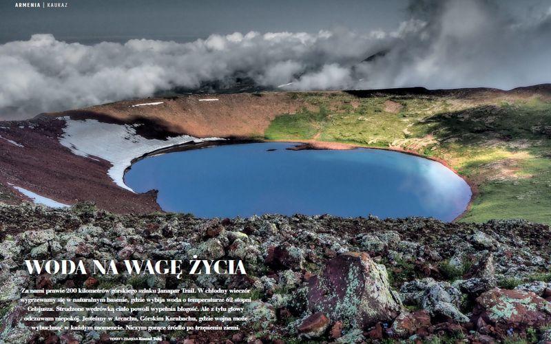 Woda na wagę życia - Górski Karabach/Arcach - Armenia