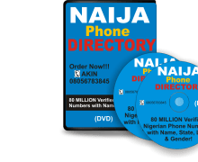 I Will Send You Nigeria Phone Number Database for Any State