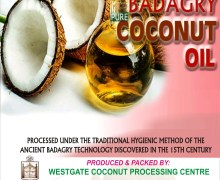 VIRGIN COCONUT OIL FROM BADAGRY