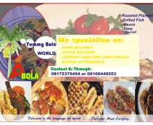 ABOLA YUMMY BOLE WORLD