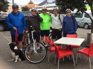 Five Men on Bikes - to say nothing of the Dog (with apologies to Jerome K Jerome)