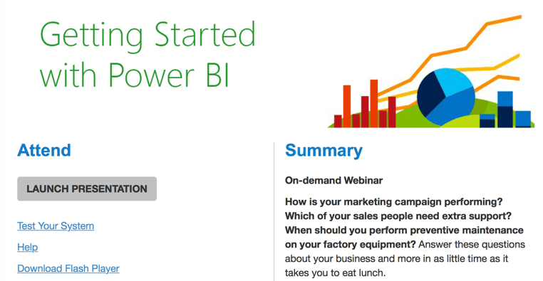 Getting Started with Power BI (Video)