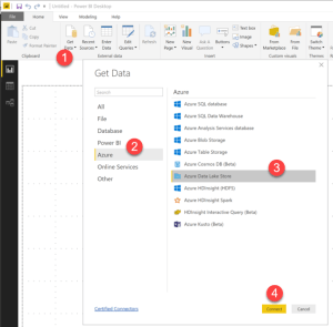 Using Azure Data Lake with Power BI - 5MinuteBI