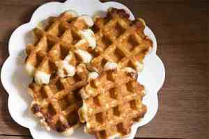 Buttery Coconut Flour Waffles